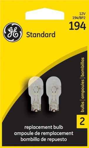 Amazon.com: Ge Miniature Lamps Bulb No. 194bp 12 V 2 / Carded: Automotive