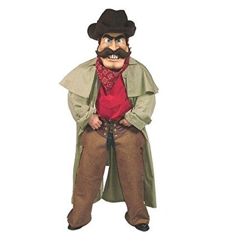 ALINCO Cowboy W/Duster Mascot Costume -
