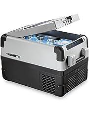 DOMETIC CoolFreeze CFX 35 W, elektryczna lodówka kompresorowa, 32 litry, 12/24 V i 230 V do samochodu, ciężarówki, łodzi, przyczepy kempingowej i gniazdka, z Wi-Fi + USB