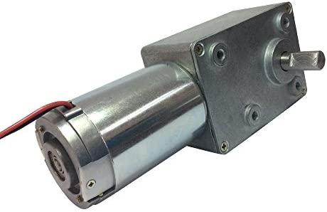DC12V 24V Worm Gear Reducer Motor 5-95RPM Right Angle Low Speed Motor 58GZ868