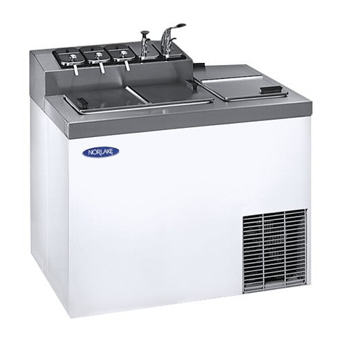 Nor-Lake Ice Cream Topping Cabinet ZF124WVS-0