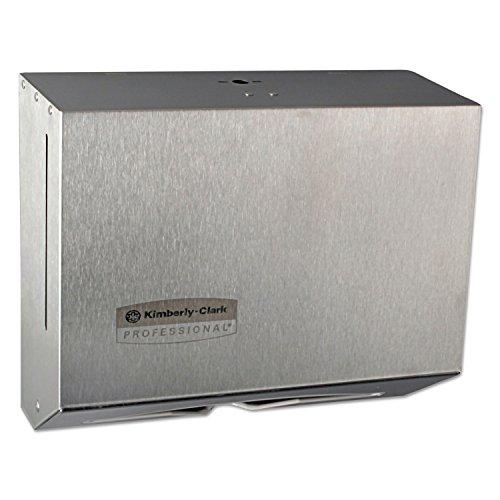 Windows Scottfold Compact Towel Dispenser, 10 3/5 X 9 X 4 3/4, Stainless (Windows Scottfold Compact)