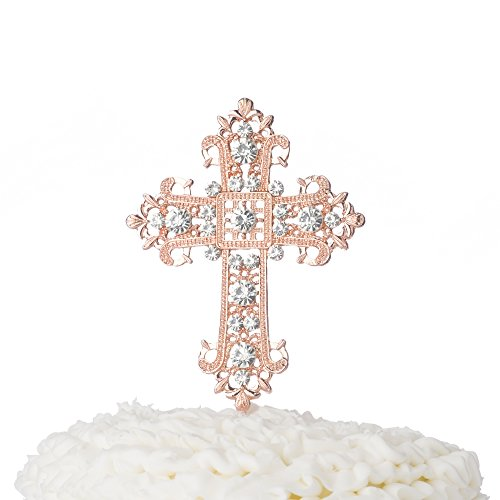 20 Pewter Cross Statue Christening Baptism Baby Shower Wedding Party Favors