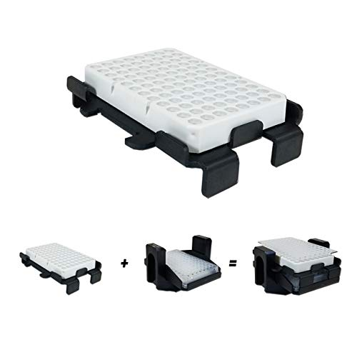 Microplate Stacker Hermle Z446-750-AC Swing-Out Rotor Micro Plate Carriers for PCR Plates, 2/PK ()