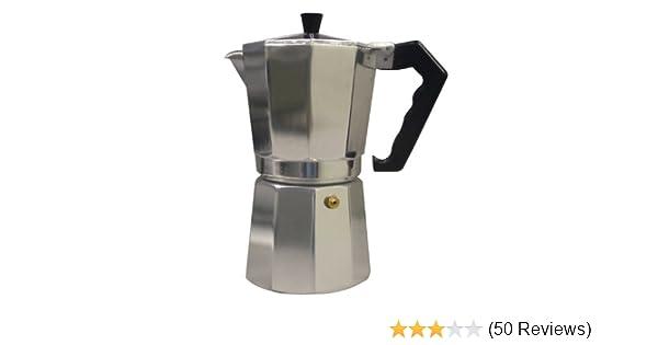 Amazon.com: CucinaPro 270-06 Stovetop Espresso Machine, 6 ...
