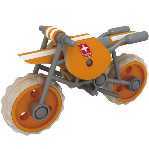 Hape E-Moto Bamboo Motorcycle, Baby & Kids Zone