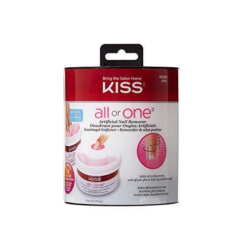 Nail Glue Remover - Kiss All or One Artificial Nail Remover #00086