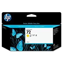 HP 72 Yellow Ink Cartridge - Yellow - Inkjet - 1 Each [Electronics]