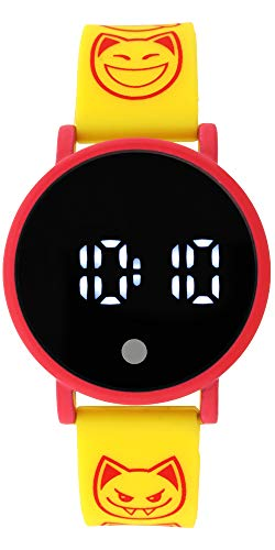 Animal Jam Yellow Rubber LED Watch