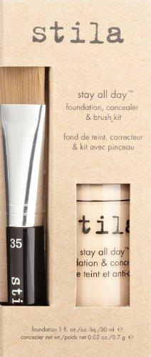 stila Stay All Day Foundation, Concealer & Brush Kit, Bare