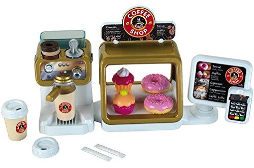 Theo Klein-9501 Cafetería Con Pantalla Táctil, Datáfono Y Espresso Bar, Juguete, Multicolor (9501)