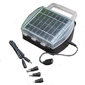 Amazon.com: Cargador de batería solar, Carga 4 pilas AA, AAA ...