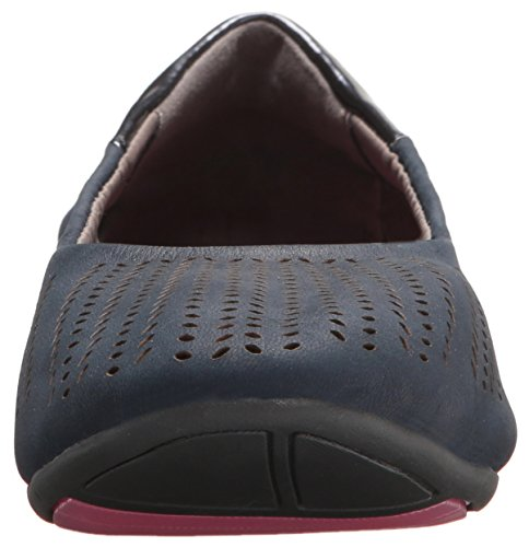 Piedi Petali Donna Cami Cushionology Balletto Flat Navy