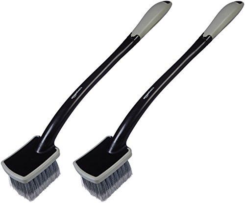 AmazonBasics Long Handled Wheel Brush (2 Pack)