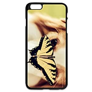 Dog Butterfly Generic Cover For IPhone 6 Plus