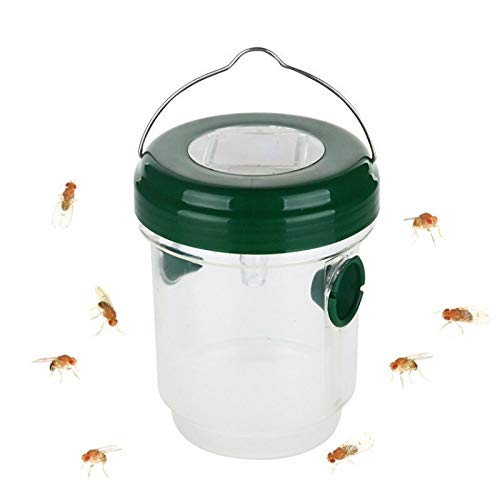 Outdoor Flying Capture Suspension LED Plastic Bee Hornet Trap Catcher Hanging in The Tree Non-Toxic Insect Control Tool Lure