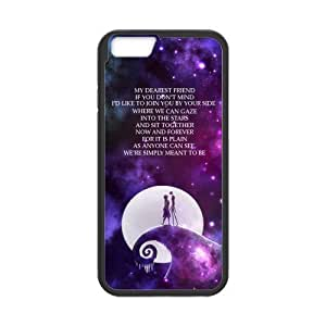 DIY Fashion The Nightmare Before Christmas High Quality Durable Hard Rubber Gel Silicon Case Cover for iPhone 6 4.7 inch hjbrhga1544