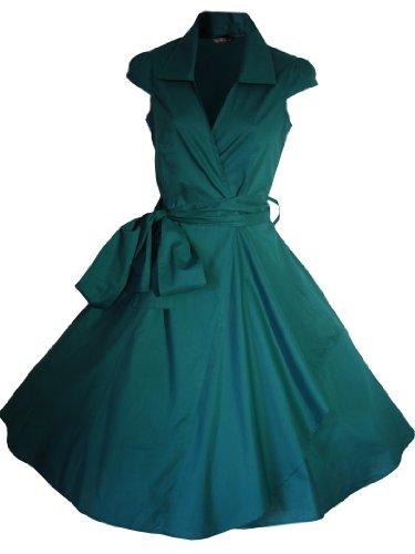 Look for the Stars - Vestido - Básico - para mujer Verde