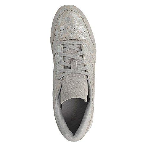 Leather Metallico Classic Reebok Metallico Donna Hype Sneaker Yn5nWqBTZ1