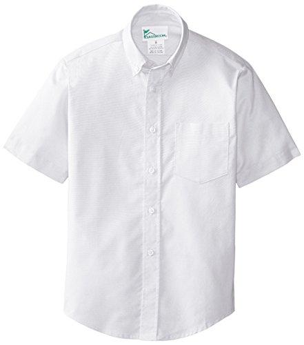 CLASSROOM Boys' Short Sleeve Oxford Shirt – DiZiSports Store