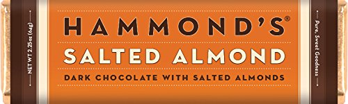 Salted Almond Dark Chocolate Bar