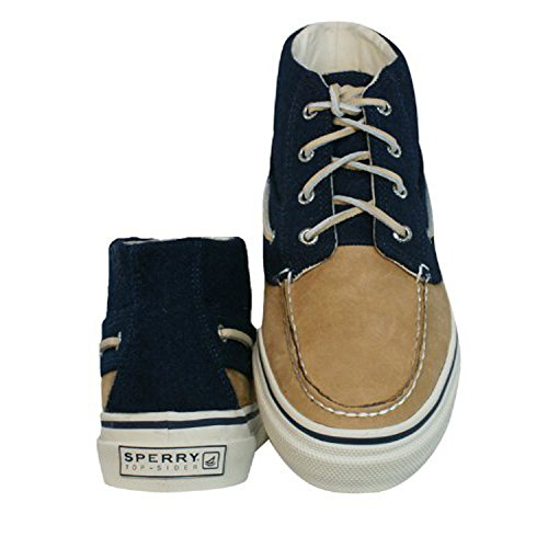Sperry Bahama Chaussure Chaussure Homme Marron Bleu Laine Laine Et Cuir Cuir 100% 10281956 Ch171 G13 Sneaker