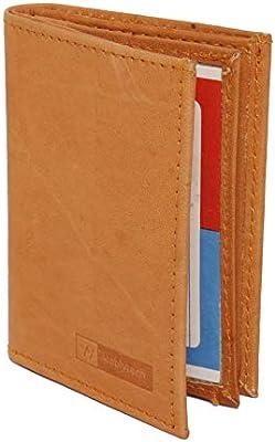 09728ba04591 Super Slim Leather Men's Wallet Credit Card Case Sleeve Card Holder ...