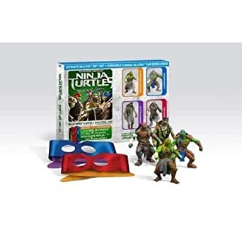 Amazon.com: Teenage Mutant Ninja Turtles (Blu-ray + DVD + ...