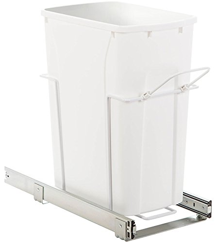 MD Group Pull-Out Cabinet Trash Can - 35 Quart, 18.75'' x 20'' x 16.5 lbs