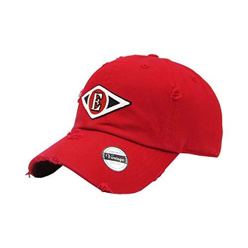 652adfaf5752c7 PeligroSports Dominican Baseball Caps Leones del Escogido (Vintage Red)