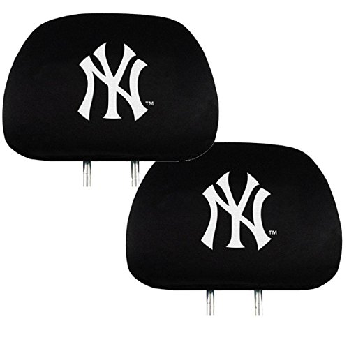 Team ProMark Official Major League Baseball Fan Shop Authentic Car Truck Auto MLB Headrest Cover (New York Yankees)