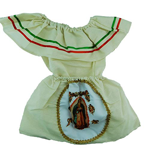 Mexican Infant Dress Size 1 Juan Diego Virgen Mary Dress Day of The Dead Coco Theme Party Halloween Party -