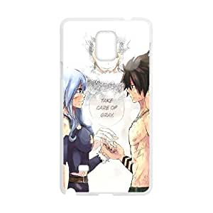Fairy Tail Samsung Galaxy Note 4 Cell Phone Case White gife pp001_9265828