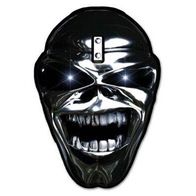 Sticker Eddie (Iron Maiden Eddie Chrome Vynil Car Sticker Decal - Select Size)