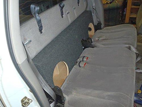 audio enhancers ddq120c10 dodge dakota 2000 2004 subwoofer box custom fit sub box speaker enclosure Jeep Wrangler Speaker Box