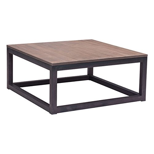 Amazon zuo civic center square coffee table distressed natural zuo civic center square coffee table distressed natural watchthetrailerfo