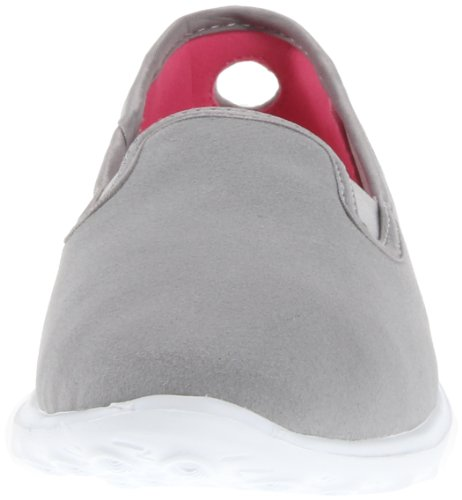 Skechers GO SleekSlide - bajo de lona mujer Gris (Grau (Gry))
