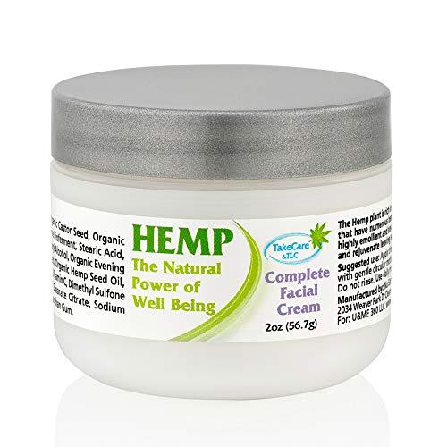 Womens Natural Organic Facial Moisturizer for Dry Sensitive Skin - Anti Aging Moisturizing & Nourishing Face Cream - Essential Oils & Vitamin C & E