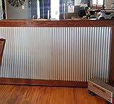 Colorado Steel Rustic Corrugated Metal Wainscoting