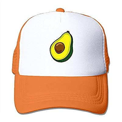 Large beach pants Unisex Cartoon Avocado Mesh Cap Adjustable Snapback Baseball Caps Adult Dad Hat from shower curtain liner