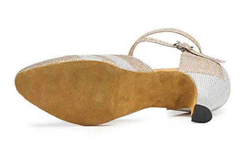 TDA - Zapatos de tacón  mujer 6cm Heel Champagne