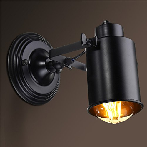 e27 Nordic Retro Wall lamp Spotlight Fixture Adjustable for