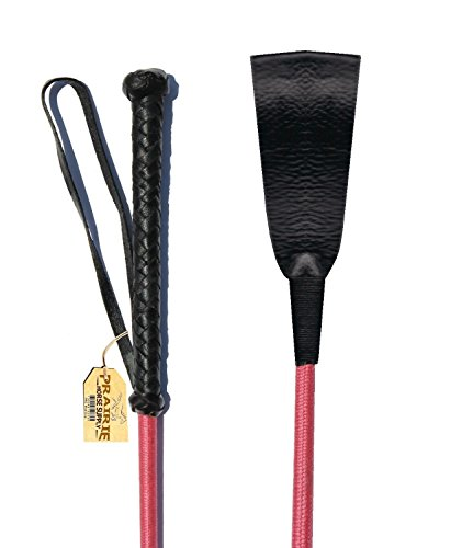 PINK Riding Crop Horse Whip With Leather