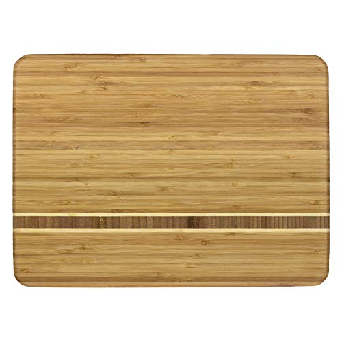 Bamboo Forest Bowl - Totally Bamboo Martinique Bamboo Serving and Cutting Board, 15