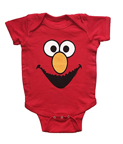 (Sesame Street Baby Boys Elmo One Piece Snap Bodysuit (18-24 Months))