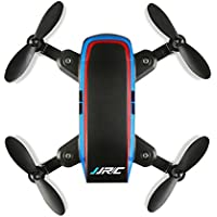 Owill JJRC H53W Mini Foldable Pocket Drone 480P HD WiFi FPV Quadcopter Altitude Hold Hover (Black)