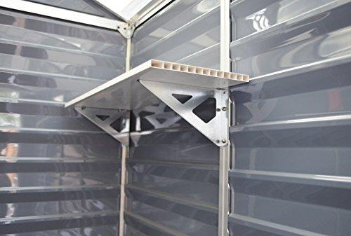 Palram Skylight Shelf Kit, Tan by Palram (Image #1)