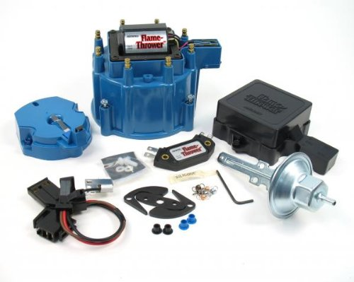 PerTronix D8002 Flame-Thrower Blue Cap GM HEI Tune Up Kit for Chevrolet/Cadillac