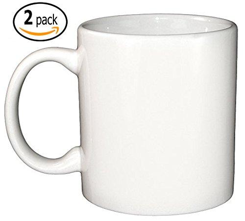 White 20 Ounce Ceramic - 5