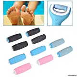 Compatible Replacement Roller Heads for Amope Pedi Perfect Electronic Foot File - Extra
